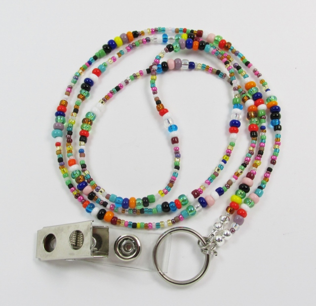 ID Badge Holder Lanyard Necklaces